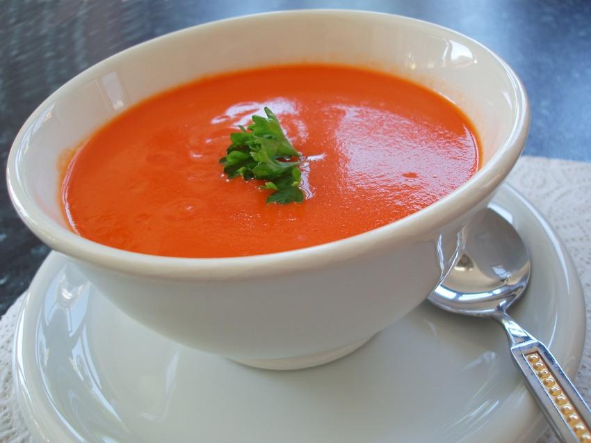 tomato basil soup  melt it pasadena